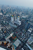 Vista aerea di Bangkok Fotografie Stock