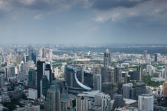 Vista aerea di Bangkok Fotografie Stock Libere da Diritti
