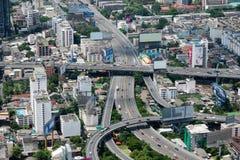 Vista aerea di Bangkok Fotografia Stock