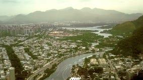 Vista aerea di Barra Region Immagini Stock