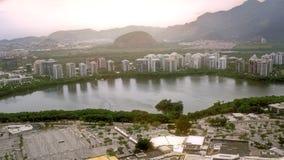 Vista aerea di Barra Region Fotografia Stock
