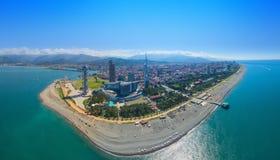 Vista aerea di Batumi Fotografia Stock Libera da Diritti