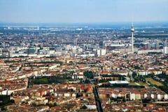 Vista aerea di Berlino Fotografie Stock Libere da Diritti
