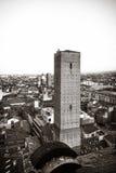 Vista aerea di Bologna Fotografia Stock Libera da Diritti