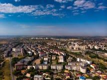 Vista aerea di Costanza, città in Romania fotografie stock libere da diritti