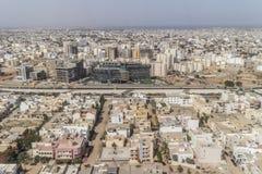 Vista aerea di Dakar Fotografia Stock