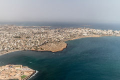 Vista aerea di Dakar Immagine Stock Libera da Diritti