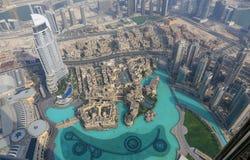 Vista aerea di Duabi Immagine Stock Libera da Diritti