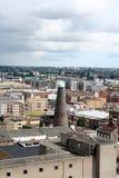 Vista aerea di Dublino Immagine Stock