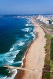 Vista aerea di Durban fotografia stock