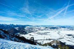 Vista aerea di Fuessen Fotografie Stock Libere da Diritti