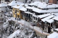 Vista aerea di generale Gurko Street a gennaio Fotografie Stock