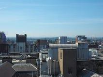 Vista aerea di Glasgow immagini stock