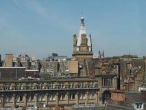 Vista aerea di Glasgow immagine stock libera da diritti
