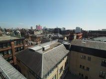 Vista aerea di Glasgow fotografie stock