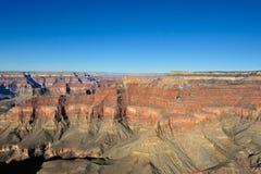 Vista aerea di grande canyon Fotografia Stock