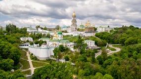 Vista aerea di Kiev Immagine Stock Libera da Diritti