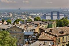 Vista aerea di Kiev Fotografie Stock Libere da Diritti