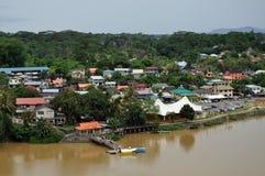 Vista aerea di Kuching Fotografia Stock