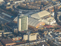 Vista aerea di Londra Immagini Stock Libere da Diritti
