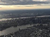Vista aerea di Manhattan fotografia stock libera da diritti