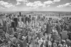 Vista aerea di Manhattan, New York, U.S.A. Fotografia Stock Libera da Diritti