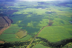 Vista aerea di Maui, Hawai Fotografia Stock Libera da Diritti