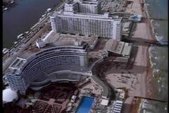 Vista aerea di Miami Beach, Florida video d archivio