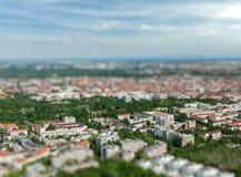 Vista aerea di Monaco di Baviera Monaco di Baviera, Baviera, Germania Immagini Stock