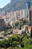 Vista aerea di Monte Carlo Monaco Immagini Stock Libere da Diritti