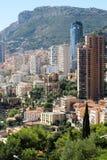 Vista aerea di Monte Carlo Monaco Immagini Stock