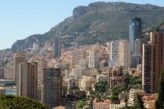 Vista aerea di Monte Carlo Monaco Fotografie Stock Libere da Diritti