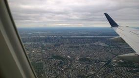 Vista aerea di New York Immagini Stock