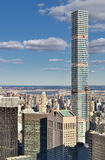 Vista aerea di New York Fotografie Stock