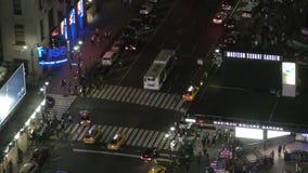 Vista aerea di New York City stock footage