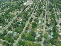 Vista aerea di Ontario Immagini Stock Libere da Diritti