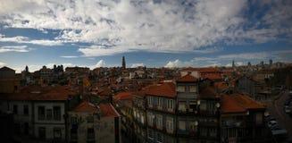 Vista aerea di panorama ad Oporto Portogallo Immagini Stock Libere da Diritti