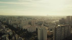Vista aerea di Parigi, vista all'est dal ` Italie, Francia del posto d Instaurazione del colpo stock footage