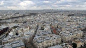 Vista aerea di Parigi, Francia Fotografie Stock Libere da Diritti