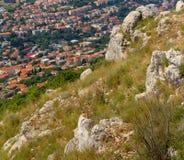 Vista aerea di Ragusa Fotografie Stock Libere da Diritti
