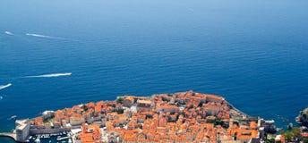 Vista aerea di Ragusa Immagine Stock