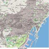 Vista aerea di ricerca di Barcellona Spagna Europa ciao Royalty Illustrazione gratis