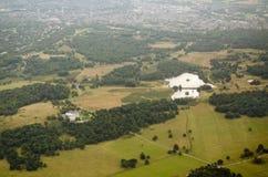 Vista aerea di Richmond Park immagine stock libera da diritti