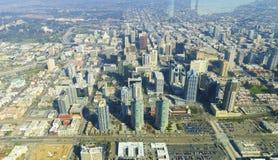 Vista aerea di San Diego del centro Fotografie Stock