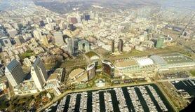 Vista aerea di San Diego del centro Fotografie Stock Libere da Diritti