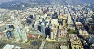 Vista aerea di San Diego del centro Fotografia Stock Libera da Diritti