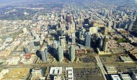 Vista aerea di San Diego del centro Fotografia Stock