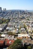 Vista aerea di San Francisco Fotografia Stock