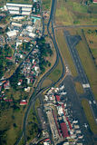 Vista aerea di San José, Costa Rica Fotografie Stock Libere da Diritti