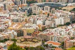 Vista aerea di Santa Cruz de Tenerife. La Spagna Fotografie Stock